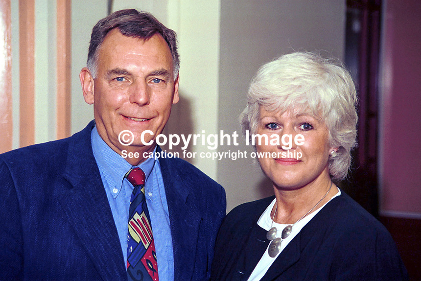 Alan Keen, Ann Keen, husband and wife, Labour Party, MPs, Britain, UK, Ref: 199810044.<br /> <br /> Copyright Image from Victor Patterson, 54 Dorchester Park, <br /> Belfast, UK, BT9 6RJ<br /> <br /> t1: +44 28 9066 1296 (from Rep of Ireland 048 9066 1296)<br /> t2: +44 28 9002 2446 (from Rep of Ireland 048 9002 2446)<br /> m: +44 7802 353836<br /> <br /> e1: victorpatterson@me.com<br /> e2: victorpatterson@gmail.com<br /> www.victorpatterson.com<br /> <br /> Please see my Terms and Conditions of Use at www.victorpatterson.com. It is IMPORTANT that you familiarise yourself with them.<br /> <br /> Images used on the Internet must be visibly watermarked i.e. &copy; Victor Patterson<br /> within the body of the image and copyright metadata must not be deleted. Images <br /> used on the Internet have a size restriction of 4kbs and will be chargeable at current<br />  NUJ rates unless agreed otherwise.<br /> <br /> This image is only available for the use of the download recipient i.e. television station, newspaper, magazine, book publisher, etc, and must not be passed on to any third <br /> party. It is also downloaded on condition that each and every usage is notified within 7 days to victorpatterson@me.com<br /> <br /> The right of Victor Patterson to be identified as the author is asserted in accordance with The Copyright Designs And Patents Act (1988). All moral rights are asserted.