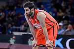 Valencia Basket's Fernando San Emeterio during 2017 King's Cup match between Real Madrid and Valencia Basket at Fernando Buesa Arena in Vitoria, Spain. February 19, 2017. (ALTERPHOTOS/BorjaB.Hojas)