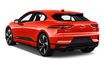 Car pictures of rear three quarter view of a 2019 Jaguar I Pace S 5 Door SUV angular rear