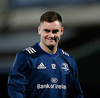 1st November 2019; RDS Arena, Dublin, Leinster, Ireland; Guinness Pro 14 Rugby, Leinster versus Dragons; Conor O'Brien of Leinster warms up prior to kickoff - Editorial Use