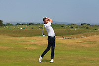 Ian O'Rourke (The Royal Dublin) on the 2nd during Round 4 of the East of Ireland Amateur Open Championship sponsored by City North Hotel at Co. Louth Golf club in Baltray on Monday 6th June 2016.<br /> Photo by: Golffile   Thos Caffrey