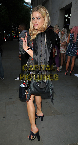 Olivia Cox at the LOTD new fashion brand launch party, Radio Rooftop Bar, ME London, The Strand, London, England, UK, on Wednesday 16 August 2017.<br /> CAP/CAN<br /> &copy;CAN/Capital Pictures