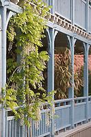 Europe/France/Aquitaine/Gironde/Bassin d'Arcachon/Cap Ferret: Terrasse de La Maison du Bassin et son Bistrot, 5, rue des Pionniers