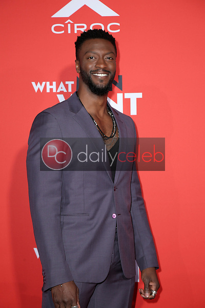 """Aldis Hodge<br /> at the """"What Men Want"""" Premiere, Village Theater, Westwood, CA 01-28-19<br /> David Edwards/DailyCeleb.com 818-249-4998"""