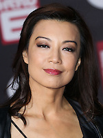 HOLLYWOOD, LOS ANGELES, CA, USA - NOVEMBER 04: Ming-Na Wen arrives at the Los Angeles Premiere Of Disney's 'Big Hero 6' held at the El Capitan Theatre on November 4, 2014 in Hollywood, Los Angeles, California, United States. (Photo by Xavier Collin/Celebrity Monitor)