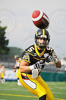 June 26, 2008; Hamilton, ON, CAN; Hamilton Tiger-Cats wide receiver Pat Woodcock (5). CFL football - Montreal Alouettes defeated the Hamilton Tiger-Cats 33-10 at Ivor Wynne Stadium. Mandatory Credit: Ron Scheffler-www.ronscheffler.com. Copyright (c) Ron Scheffler