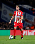 Atletico Madrid's Koke in action during the Champions League Group C match at the Stamford Bridge, London. Picture date: December 5th 2017. Picture credit should read: David Klein/Sportimage
