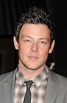 "HOLLYWOOD, CA - DECEMBER 05: Cory Monteith arrives at the Los Angeles premiere of ""New Year's Eve"" at Grauman's Chinese Theatre on December 5, 2011 in Hollywood, California."
