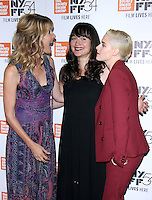 NEW YORK, NY-October 03:Laura Dern, Lily Gladstone and Kristen Stewart at 54th NewYork Film Festival premiere of Certain Women at Alice Tully Hall at Lincoln Center in New York.October 03, 2016. Credit:RW/MediaPunch