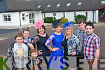 Pupils and parents at Barraduff National School will take to the catwalk for the school's first ever fund-raising fashion show this month. <br /> L-R Lee Kelly, Michael O'Leary, Shannon Kelly, Bina O'Leary, Majella Murphy, Marie O'Sullivan, Gearoid O'Leary and Steven O'Leary.