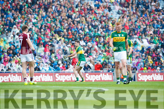 Paul Geaney Kerry in action against  Galway in the All Ireland Senior Football Quarter Final at Croke Park on Sunday.§