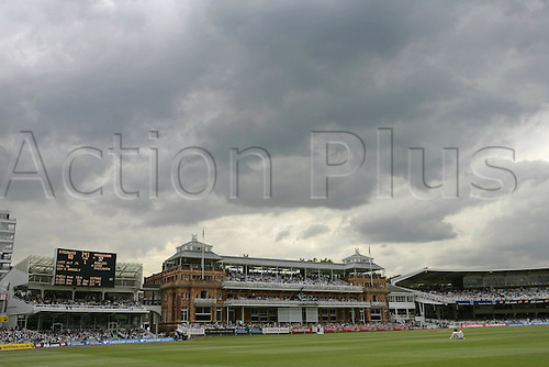 19 July 2007: General view of Lords Pavilion on day one of the first npower test match between England and India at Lords, London. Photo: Neil Tingle/Actionplus...070719 cricketer cricket ground