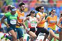 Chiaki Takada &amp; Omori Shigekazu (JPN),<br /> SEPTEMBER 8, 2016 - Athletics : <br /> Women's 100m T11 Preliminary Round <br /> at Olympic Stadium<br /> during the Rio 2016 Paralympic Games in Rio de Janeiro, Brazil.<br /> (Photo by AFLO SPORT)