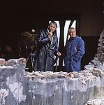 Vladimir Naumov - soviet and russian film director, screenwriter, actor, producer, and teacher; Alexander Alov (Lapsker) - soviet, ukrainian and russian film director, writer, and teacher<br /> . / Владимир Наумович Наумов - cоветский, российский кинорежиссёр, сценарист, актёр, продюсер, педагог; Александр Александрович Алов (Лапскер) - cоветский украинский и российский кинорежиссёр, сценарист, педагог.