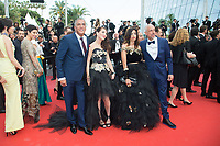CANNES, FRANCE - MAY 18: Samy Naceri, Larbi Naceri and guests attend the screening of 'The Wild Pear Tree (Ahlat Agaci)'  during the 71st annual Cannes Film Festival at Palais des Festivals on May 17, 2018 in Cannes, France. <br /> <br /> Picture: Kristina Afanasyeva/Featureflash/SilverHub 0208 004 5359 sales@silverhubmedia.com
