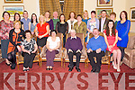 Retiring teacher Diarmuid Desmond, Holy Family National School, Rathmore, pictured with his wife Joan and colleagues from the school during his retirement function in The Malton hotel, Killarney on Thursday night.....................