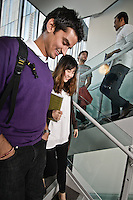 Photos for Kingston University  London international student brochures and prospectuses.??Students walking down stairs in John Galsworthy Building.?Date Taken: 19/04/10??Location: John Galsworthy Building, Penrhyn Rd campus.?Contact:??Commissioned by:  Kingston University - Emma Carlino?Emma Carlino.International Marketing Communications Manager.International Centre.Kingston University London.Swan Wing, River House.53-57 High Street.Kingston upon Thames.London.KT1 1LQ.UK.Tel: +44(0)20 8417 3006.Fax: +44(0)20 8417 3028.Email: e.carlino@kingston.ac.uk.Website: www.kingston.ac.uk/international