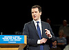 Conservative Party Spring Forum <br /> at The Old Granada Studios, Manchester, Great Britain <br /> 28th March 2015 <br /> <br /> George Osborne <br /> Chancellor the Exchequer <br /> speech <br /> <br /> Photograph by Elliott Franks