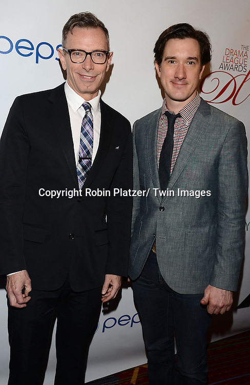 Arnie Burton and Carson Elrod attends the 80th Annual Drama League Awards Ceremony and Luncheon on May 16, 2014 at the Marriot Marquis Hotel in New York City, New York, USA.