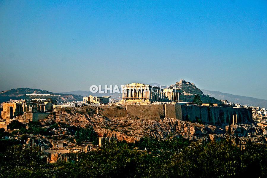 Vista da Acrópoles. Atenas. Grécia. 2007. Foto de Marcio Nel Cimatti.