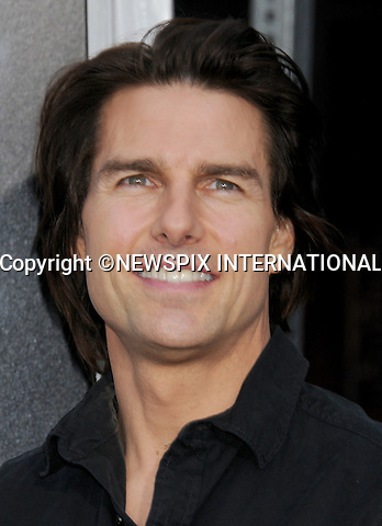 "TOM CRUISE.attends the Los Angeles Premiere of ""Super 8"" at the Regency Village Theater on June 8, 2011, Westwood, California.Mandatory Photo Credit: ©Crosby/Newspix International. .**ALL FEES PAYABLE TO: ""NEWSPIX INTERNATIONAL""**..PHOTO CREDIT MANDATORY!!: NEWSPIX INTERNATIONAL(Failure to credit will incur a surcharge of 100% of reproduction fees)..IMMEDIATE CONFIRMATION OF USAGE REQUIRED:.Newspix International, 31 Chinnery Hill, Bishop's Stortford, ENGLAND CM23 3PS.Tel:+441279 324672  ; Fax: +441279656877.Mobile:  0777568 1153.e-mail: info@newspixinternational.co.uk"