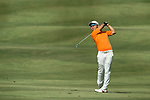 Humphrey Wong of Hong Kong plays an approach shot during the 58th UBS Hong Kong Golf Open as part of the European Tour on 09 December 2016, at the Hong Kong Golf Club, Fanling, Hong Kong, China. Photo by Marcio Rodrigo Machado / Power Sport Images