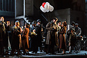 "English National Opera present their fourth revival of Jonathan Miller's production of Puccini's ""La Boheme"", in which Natalya Romaniw makes her ENO debut. Cast is: Natalya Romaniw (Mimi), Jonathan Tetelman (Rodolfo), Nicholas Lester (Marcello), Simon Butteriss (Benoit/Alcindoro), Nadine Benjamin (Musetta), David Soar (Colline), Bozidar Smiljanic (Schaunard). Picture shows: Nicholas Lester (Marcello)"