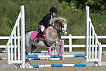 Class 2. 40cm. Unaffiliated showjumping. Brook Farm training centre. Essex. 10/09/2017. MANDATORY Credit Garry Bowden/Sportinpictures - NO UNAUTHORISED USE - 07837 394578