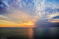 Sunset from Fort Myers Beach, Florida