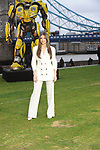 Hailee Steinfield at the 'Bumblebee photocall, London, UK Tower Bridge London