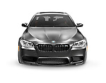 Matte black 2015 BMW F10 M5 luxury car isolated on white background with clipping path Image © MaximImages, License at https://www.maximimages.com