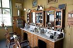 Barber's shop, Zuiderzee museum, Enkhuizen, Netherlands