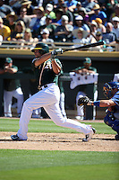 Danny Valencia - Oakland Athletics 2016 spring training (Bill Mitchell)