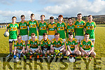John Mitchells minors who had a home venue against Castleisland Desmonds last Saturday evening.