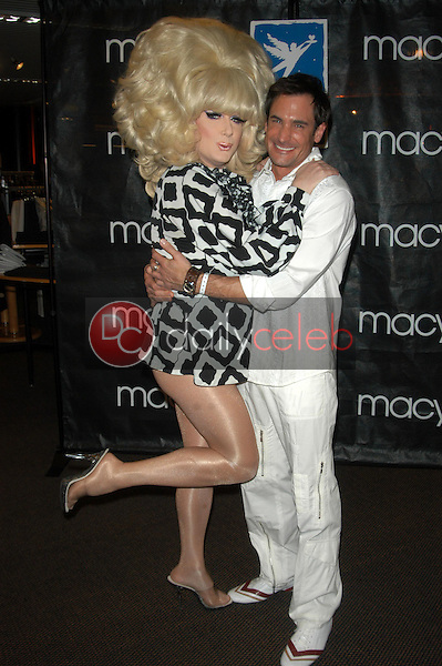 Lady Bunny and Lawrence Zarian