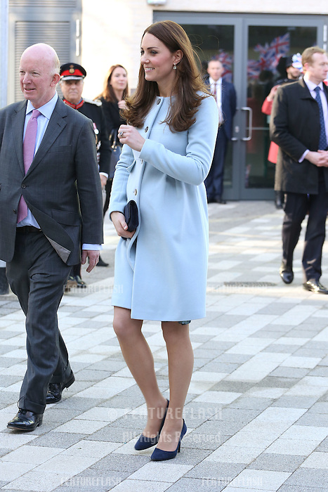 The Duchess of Cambridge, Kate Middleton, opens the Kensington Aldridge Academy, London. 19/01/2015 Picture by: James Smith / Featureflash