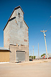 Grain elevator in the Texas Panhandle.