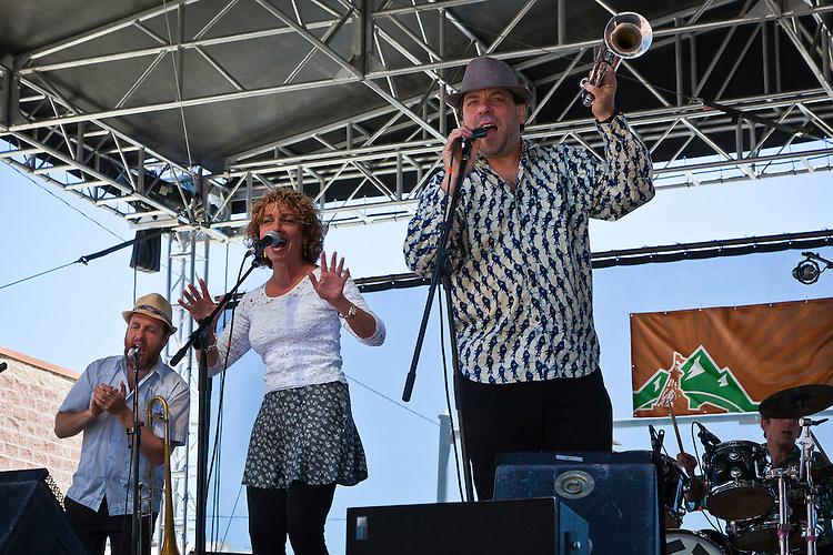 Klezmer Brass Band plays at the Montana Folk Festival