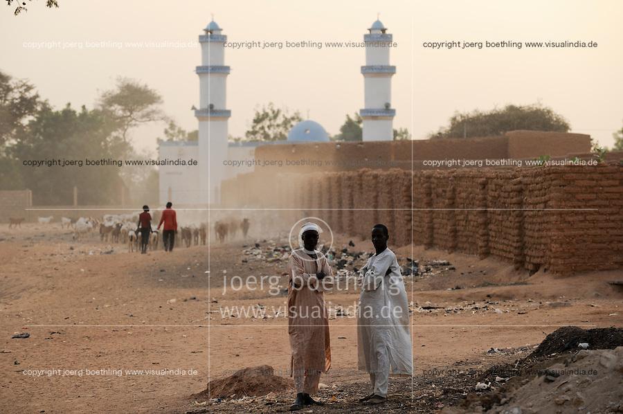 NIGER Zinder mosque / NIGER Zinder Moschee
