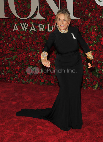 NEW YORK, NY - JUNE 12: Marlee Matlin at the 70th Annual Tony Awards at The Beacon Theatre on June 12, 2016 in New York City. Credit: John Palmer/MediaPunch