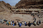 Theater built beginning of Chirstian ere. Middle East. Jordan. Petra