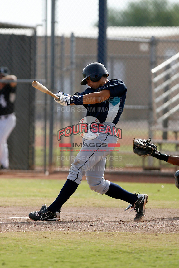 Steve Baron - Seattle Mariners 2009 Instructional League .Photo by:  Bill Mitchell/Four Seam Images..