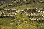 Israel, Southern Coastal Plain, Solomon's gate at Tel Gezer, the southern gate of the Israelite city