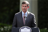 David Ricks, chairman and CEO of Eli Lilly and Company speaks during an event on Protecting Seniors with Diabetes in the Rose Garden of the White House on May 26, 2020 in Washington, DC.<br /> Credit: Oliver Contreras / Pool via CNP/AdMedia