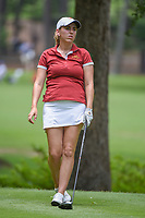 Ceilia Barquin Arozamena (a)(ESP) watches her tee shot on 11 during round 2 of the U.S. Women's Open Championship, Shoal Creek Country Club, at Birmingham, Alabama, USA. 6/1/2018.<br /> Picture: Golffile | Ken Murray<br /> <br /> All photo usage must carry mandatory copyright credit (&copy; Golffile | Ken Murray)
