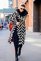 Alessandra Codinha attends Day 2 of New York Fashion Week on Feb 13, 2015 (Photo by Hunter Abrams/Guest of a Guest)