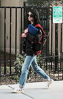 www.acepixs.com<br /> <br /> February 1 2017, New York City<br /> <br /> Musician St. Vincent walked in the East Village on February 1 2017 in New York City<br /> <br /> By Line: Curtis Means/ACE Pictures<br /> <br /> <br /> ACE Pictures Inc<br /> Tel: 6467670430<br /> Email: info@acepixs.com<br /> www.acepixs.com