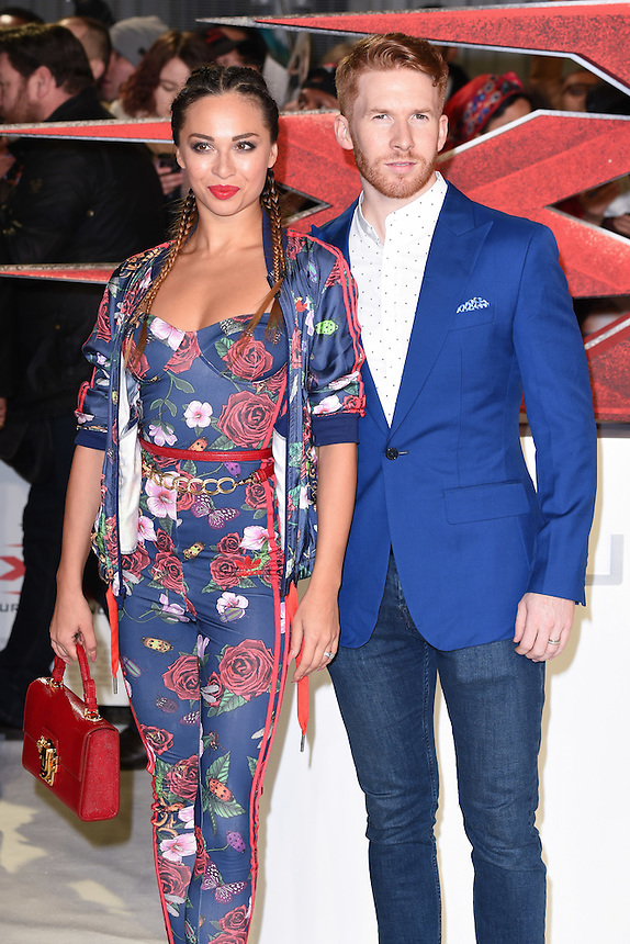 Katya and Neil Jones<br /> at the &quot;xXx: Return of Xander Cage&quot; premiere at O2 Cineworld, Greenwich , London.<br /> <br /> <br /> &copy;Ash Knotek  D3216  10/01/2017