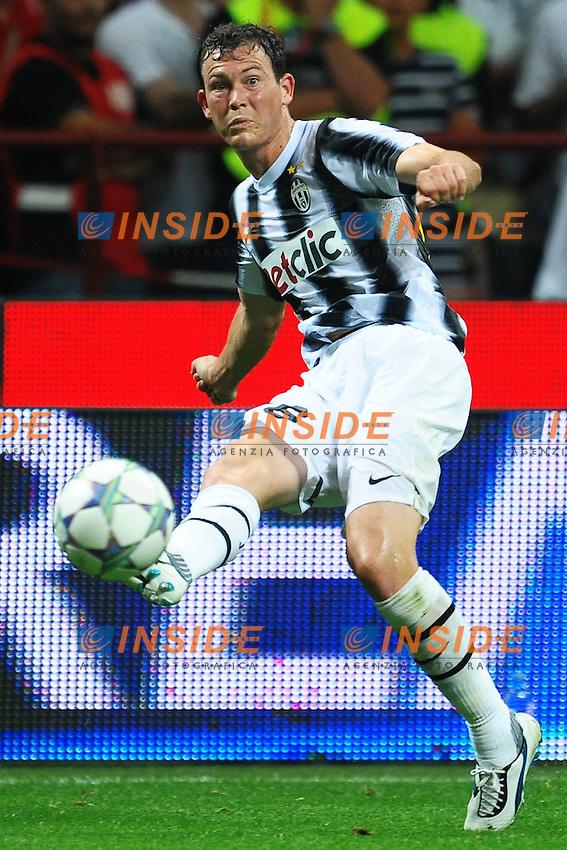 "Stephan LICHTSTEINER Juventus.Milano 21/8/2011 Stadio ""Giuseppe Meazza San Siro"".Trofeo ""Luigi Berlusconi"".Calcio Football - Milan Vs Juventus .Foto Insidefoto Andrea Staccioli"