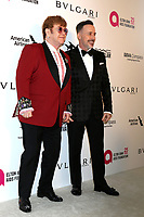 LOS ANGELES - MAR 4:  Elton John, David Furnish at the 2018 Elton John AIDS Foundation Oscar Viewing Party at the West Hollywood Park on March 4, 2018 in West Hollywood, CA